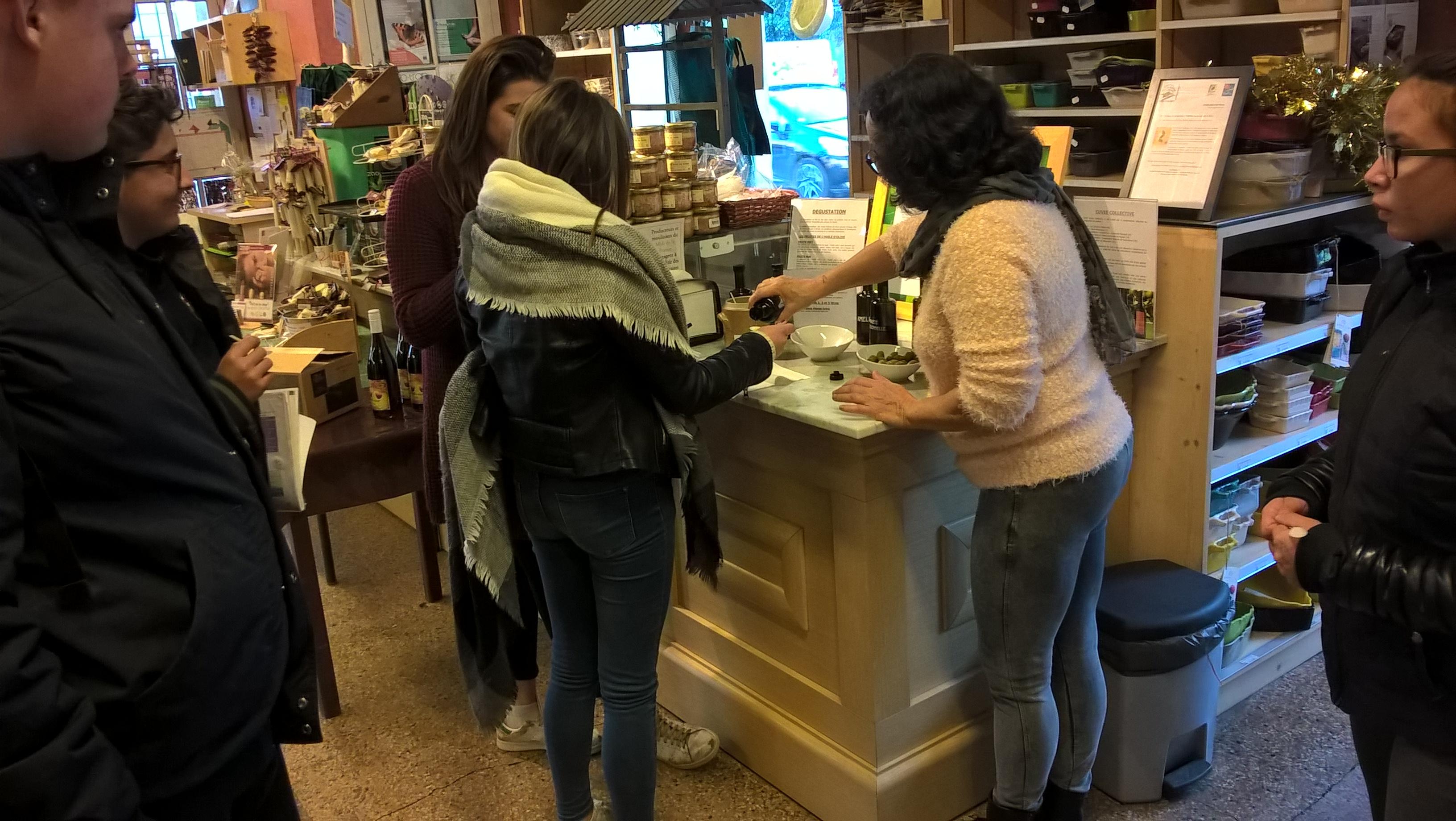 Visite de l'huilerie coopérative de Clermont l'Hérault
