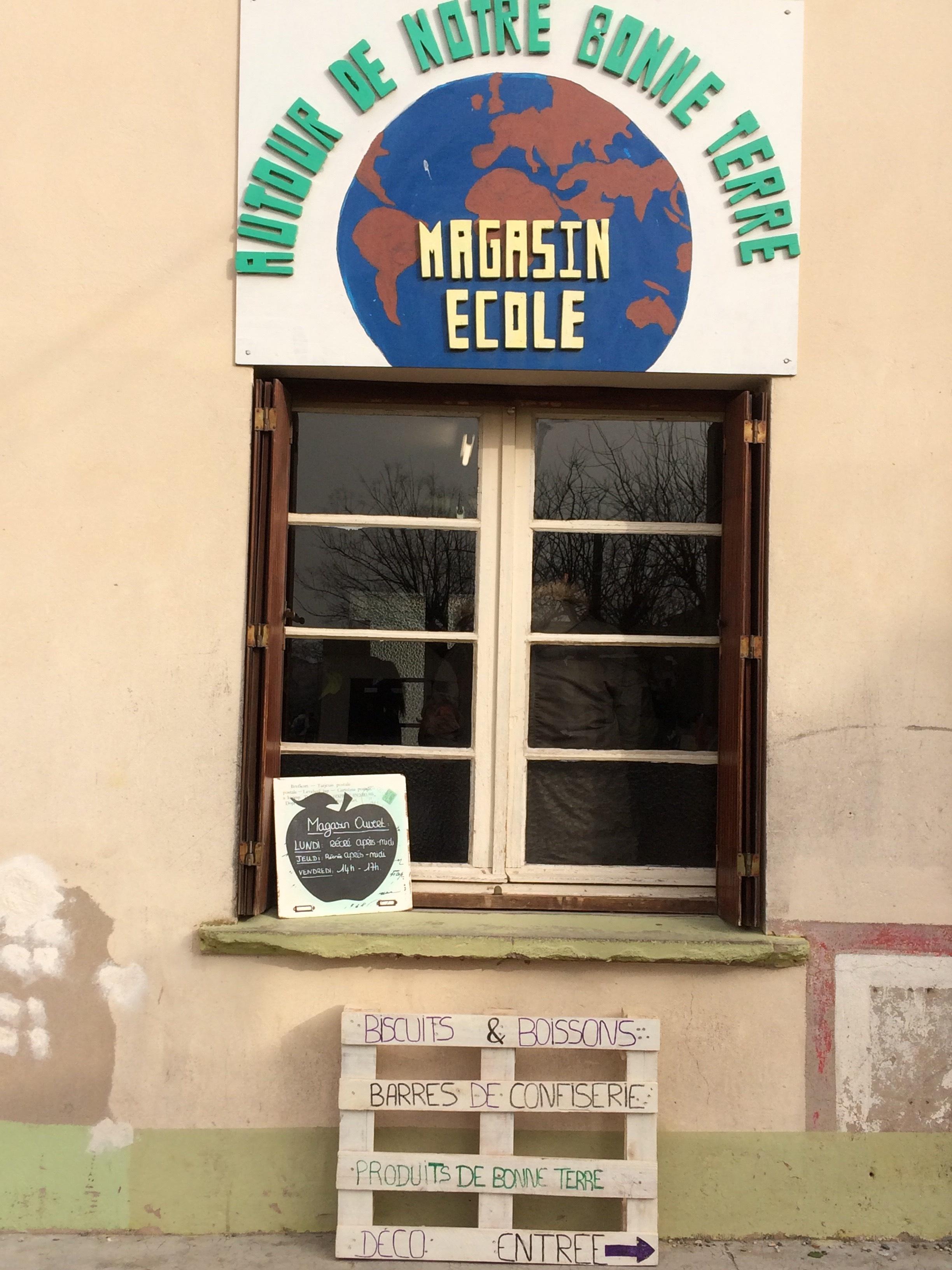 Réouverture du magasin école