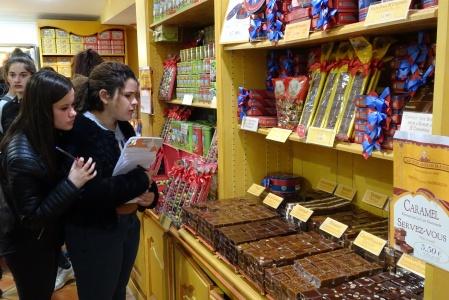 Visite à la chocolaterie de Narbonne